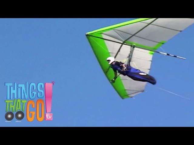 HANG GLIDER: Airplane videos for kids. Kids Videos. Preschool Kindergarten learning.
