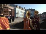 Встреча Благодатного огня и Пасхальная вечерня в Успенском кафедральном соборе 12.04.2015