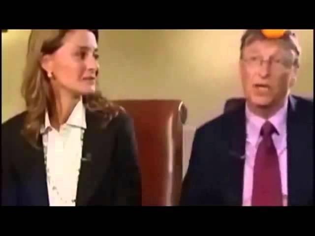 Билл Гейтс, вакцины и сокращение населения на 15 %