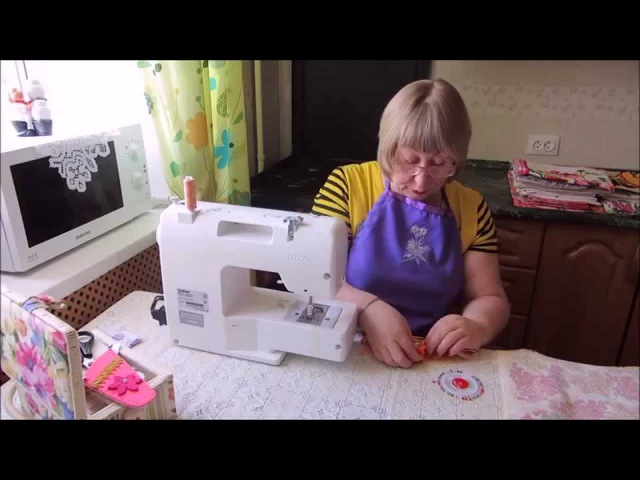 Как сшить кухонное полотенце Мастер класс