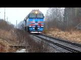 Движение поездов по станции Батецская