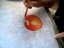 Pintura em tecido Eliane Nascimento: maçãs - Parte 1 ( ASSISTA O VÍDEO NOVO )