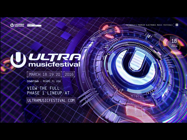 ULTRA MIAMI 2016 - PHASE ONE LINEUP ANNOUNCED