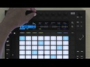Ableton Push 2 - сэмплы: режим one-shot (озвучка от