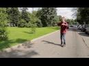 Инструктор по роликам Как кататься на роликах задним ходом 1 Сезон Урок 7 Reversal on Skates