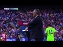Vigaray sangrando tras un choque con Fernando Torres