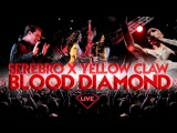 Yellow Claw feat. SEREBRO - BLOOD DIAMOND (LIVE @ MOSCOW 2016)