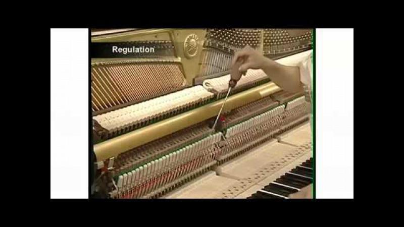 Yamaha Piano Factory Tour