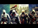 Assassin's Creed I - II - III IV trailers (Music: two steps from hell) [HD]