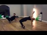 Глюкоза, репетиция танца для клипа на песню