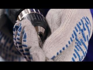 Сверление отверстий в трубе, при монтаже перил нержавеющей стали своими руками без сварки