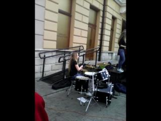 Fusion Concert#roksolana.fun.people.drums