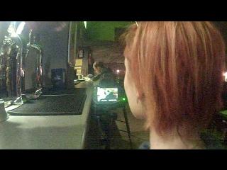 Пиратское видео со съёмок фильма в курске
