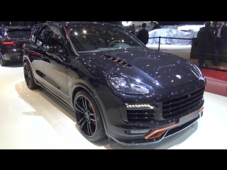 TechArt Porsche 911 Turbo Mk II, Macan Turbo, 911 Convertible Mk II facelift at Geneva 2016