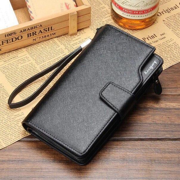 Зачем держать три вещи (визитницу + бумажник + барсетку), если нужен только один настоящий мужской портмоне