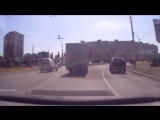 Дураки на дорогах.Калининград.Виновник ДТП
