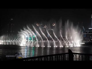 Аллу Пугачеву - Любовь похожая на сон. Поющие фонтаны в Дубае 2015 под