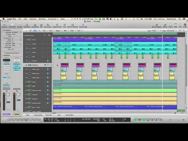Как работать со Snare part 1