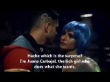 Cumbia Ninja  Scene of 3x01 Juana with Hache  English Subtitles