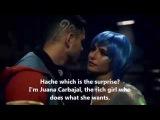 Cumbia Ninja  Scene of 3x01 Juana with Hache  English Subtitles