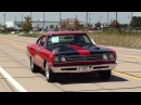 Test Driving 1969 Plymouth Road Runner 383 V8 4 BBL Four Speed