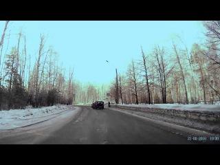 ДТП на ПП 3 поросенка - Снежинск 21 февраля 2016
