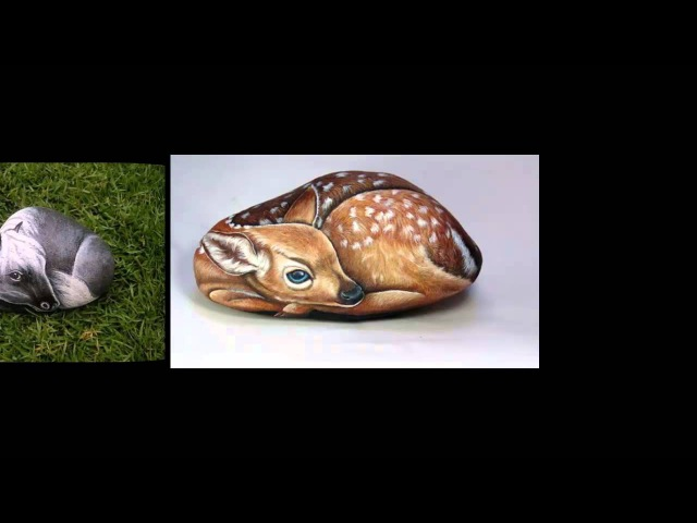 3D рисунки на камнях! Просто супер