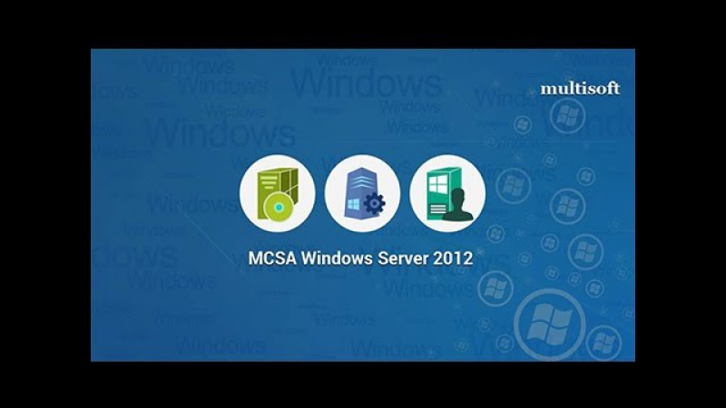 MCSA Server 2012 Online Training Certification Prep Course