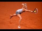 MADRID OPEN 2015 S/F Maria Sharapova vs Svetlana Kuznetsova Highlights [HD 720p]