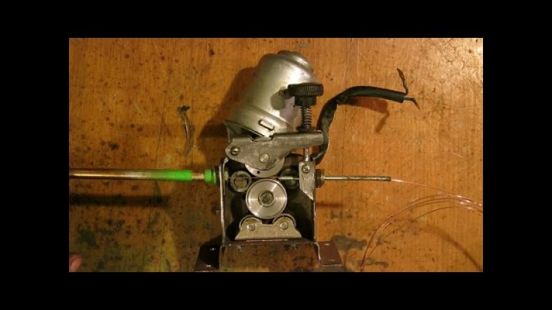 Подающий механизм проволоки полуавтомата своими руками