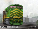 TS 2015 Railfanning: Norfolk Southern heritage units with coal train