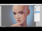 How to paint in photoshop _ Skin