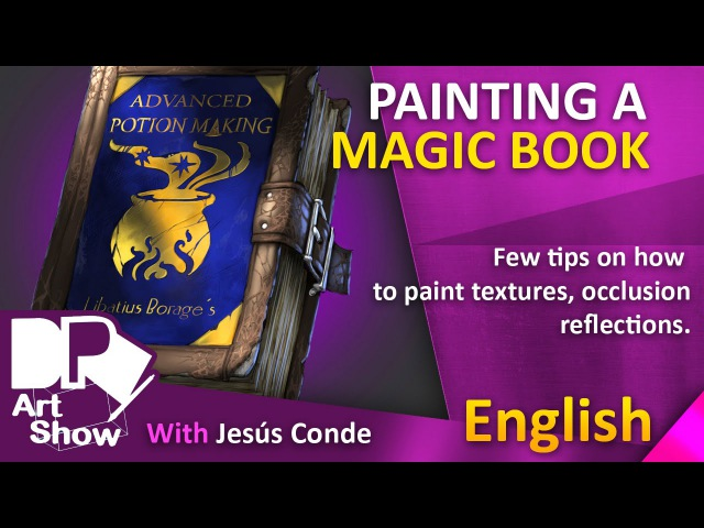 Painting a Magic Book