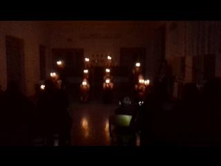 Танец со свечками (Дмитрий Колдун - В комнате пустой)