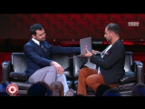 Демис Карибидис и Андрей Скороход - Кристюша и Ксюша записывают видеообращение