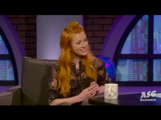 Asg: katherine mcnamara of shadowhunters interview - youtube