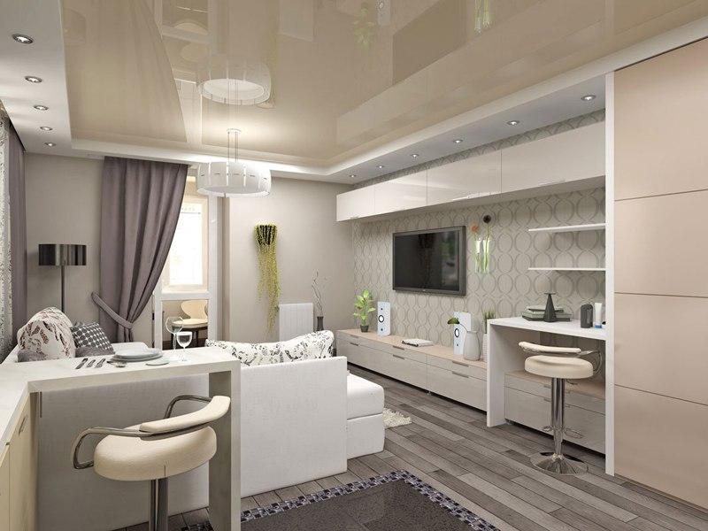 Концепт квартиры 30-35 м.