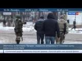 Ополченцы провели для украинских волонтеров экскурсию по Стаханову.