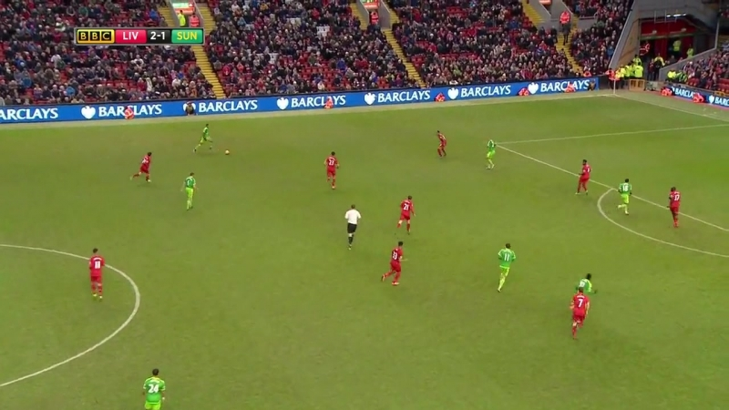 Ливерпуль - Сандерленд 2:2 видео