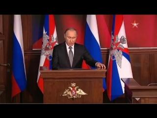 Путин приказал «предельно жестко» уничтожать всех, кто угрожает российским военным в Сирии 2015 12 11