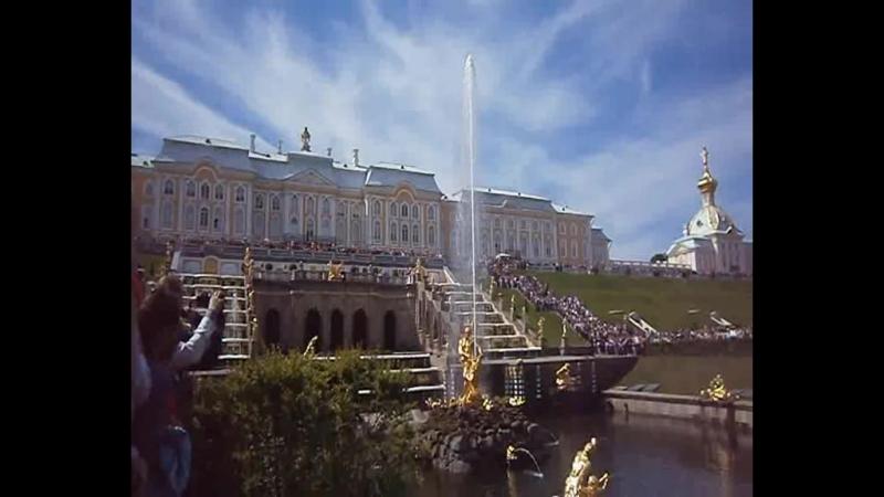 Фонтан Большой Каскад, Петергоф, 13 июня 2015 (1).