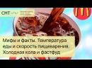 ХОЛОДНЫЕ напитки МЕШАЮТ ПИЩЕВАРЕНИЮ Температура пищи и скорость пищеварения