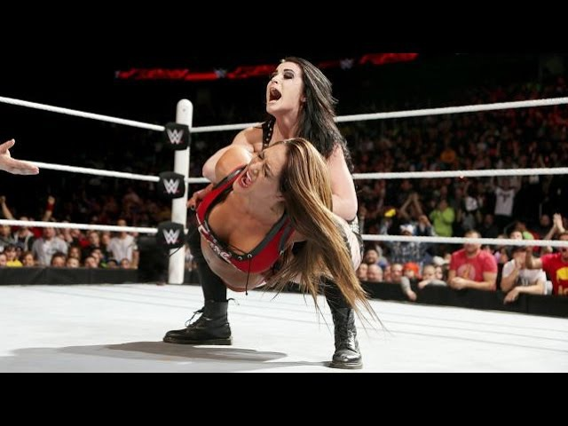 WWE RAW 03.02.15 Diva's Championship Match: Paige vs. Nikki Bella (720p)