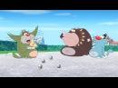 Огги и кукарачи. 4 сезон в HD. 253 - Хорошо распаренные