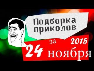 Подборка приколов за 24 ноябрь 2015 (ежедневная лучшая подборка)