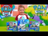 Даник и игрушки Щенячий Патруль. Райдер с Робопсом и Эверест. Unpacking Paw Patrol