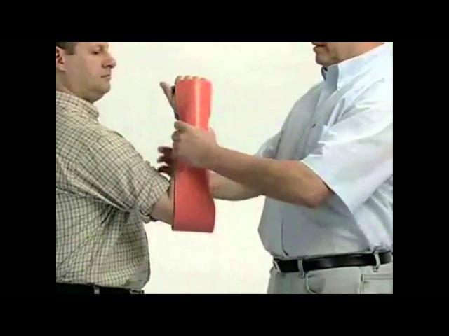 Использование шин SAM splint(ВС США). Современная военная медицина, часть 3я.