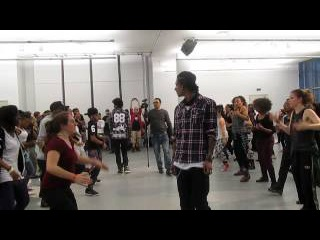 Les Twins Alvin Ailey Workshop May 1, 2014