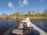 Закрытие летнего рыболовного сезона или за щуками на Вуоксу. База Синево 2015.