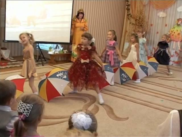 Танец с зонтиками постановка Гуровой Елены г Липецк